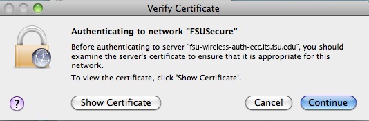 FSUSecure | ITS Knowledge Base