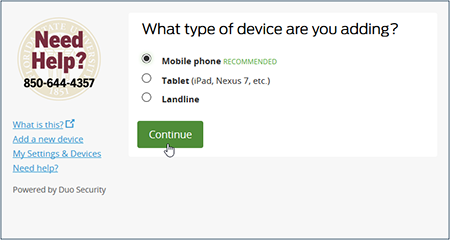 8b0cfca79 How do I add a device and activate the Duo Mobile app? | ITS ...