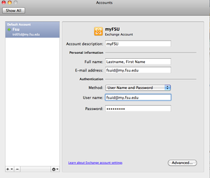 Outlook for Mac 2011 | ITS Knowledge Base