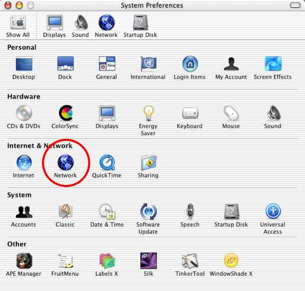 Residence Hall Dhcp For Mac Os X Its Knowledge Base