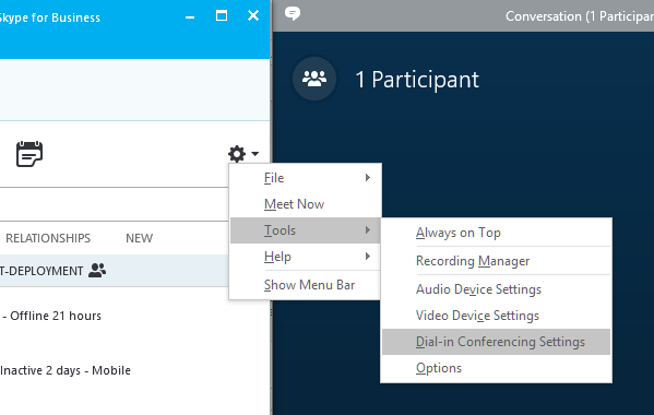 Why am I not seeing video in my Skype for Business meeting